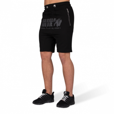 ALABAMA DROP CROTCH SHORTS – BLACK