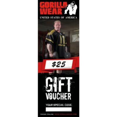 GORILLA WEAR GIFT VOUCHER 25