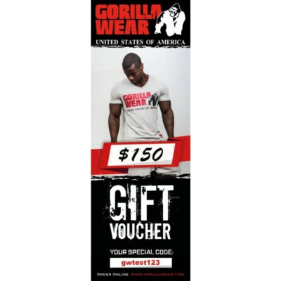 GORILLA WEAR GIFT VOUCHER 150