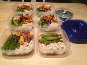 Meal prep for a day